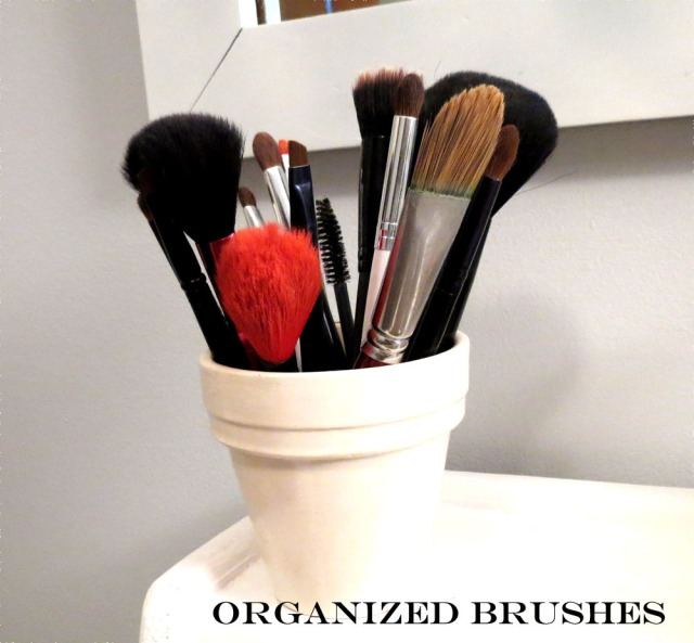 organized brushes