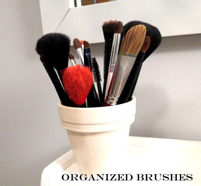 organized brushes