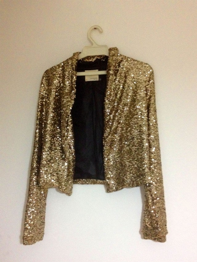 jacket sequin