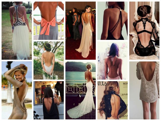 backless collage